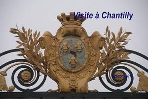 Visite à Chantilly