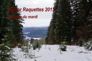 Séjour raquettes - Mardi