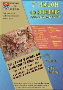 Salon de Printemps 2015
