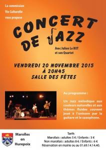 Concert de jazz 2015