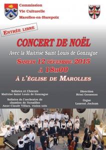 concert de noel 2015