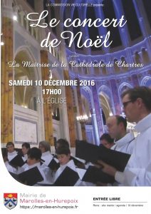 Concert de Noel 2016