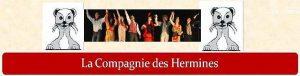 Le site web de la Compagnie des Hermines