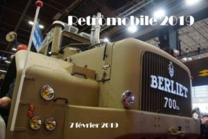 Retromobile 2019